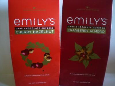 Emily's Cherry Hazelnuts and Cranberry Almonds