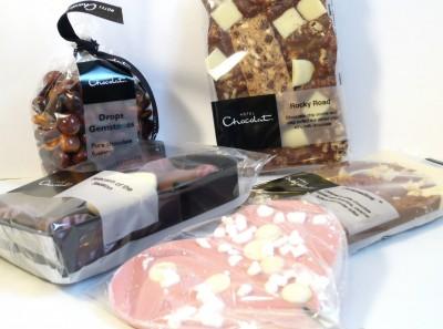Hotel Chocolat Pretty In Pink Goody Bag