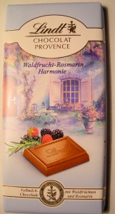 Lindt 'Chocolat Provence' Wild Berries and Rosemary