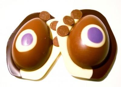 Hotel Chocolat Creamed Caramel Easter Egg Sandwich