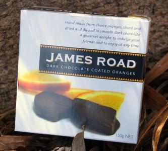 James Road Dark Chocolate Coated Oranges