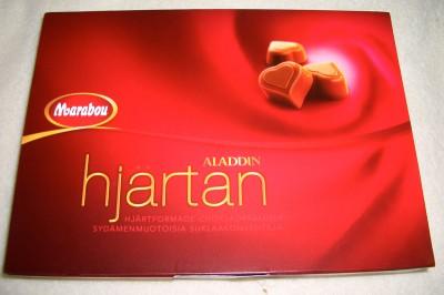 Marabou 'Aladdin' Hearts