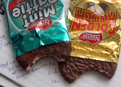 Nestlé Golden Rough / Mint Pattie