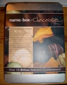 Name A Box of Chocolates