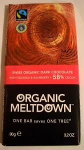 Organic Meltdown Dark Chocolate