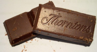 Thorntons Milk Chocolate with Tonka Bean