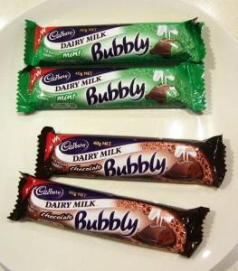Cadbury Bubbly