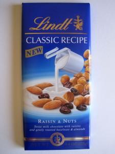Lindt Classic Raisin & Nuts