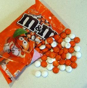 M&Ms Orange