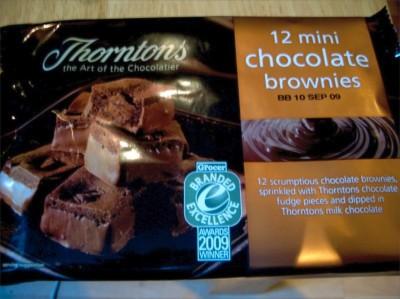 Thorntons Mini Brownies