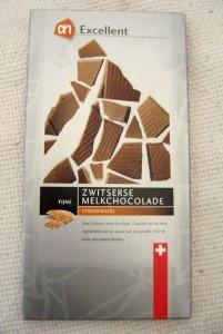 Albert Heijn Excellent Swiss Milk Chocolate With Honey Waffle