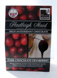 Hadleigh Maid Dark Chocolate Cranberries