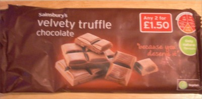 Sainsbury's Velvety Truffle