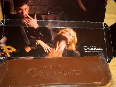 Hotel Chocolat Milk Chocolate Mini Slab