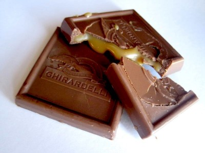 Ghirardelli Halloween Milk Chocolate with Caramel