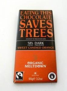 Organic Meltdown Sweet Candied Orange