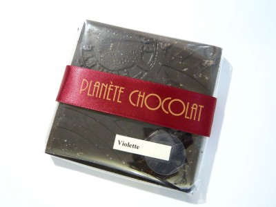 Planète Chocolat Violette