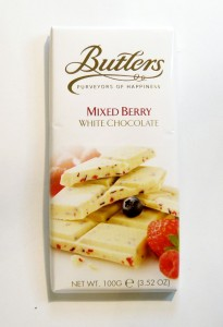 Butlers Mixed Berry White Chocolate