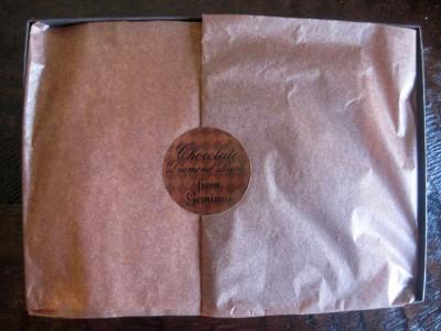 Geminus Chocolate Diamond Bark