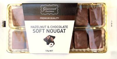 Gourmet Provisions Hazelnut and Chocolate Soft Nougat