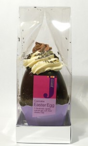 James Dark Chocolate Cupcake Egg