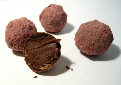 James Raspberry Truffles