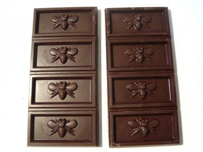 Rococo Dark Chocolate Bee Bars