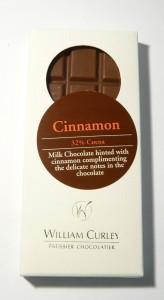 William Curley Cinnamon Milk Chocolate