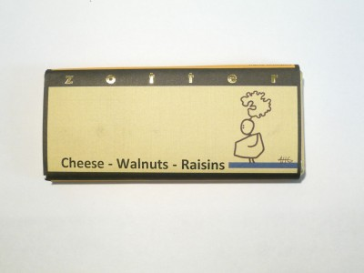 Zotter Cheese, Walntuts & Raisins