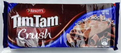 Arnott's Tim Tam Crush Double Choc Crunch