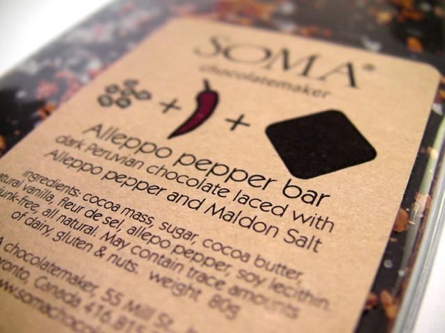 Soma Aleppo Pepper Chocolate