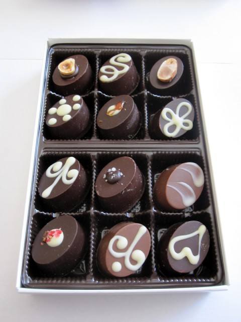 Delight Chocolate - Open Box