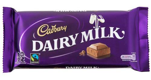 Fairtrade Certified Cadbury Dairy Milk