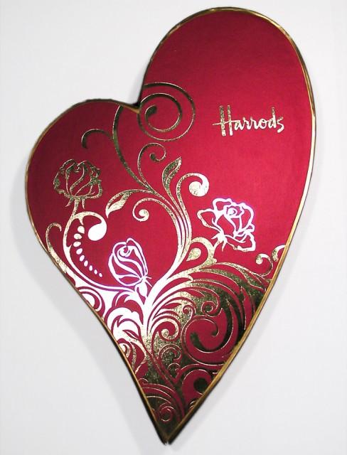 Harrods Valentine's Belgian Chocolates