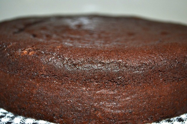 Chocolate & Kidney Bean Cake