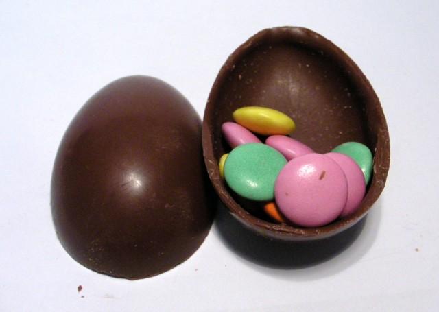 Chococo Milk Chocolate Rattle Eggs
