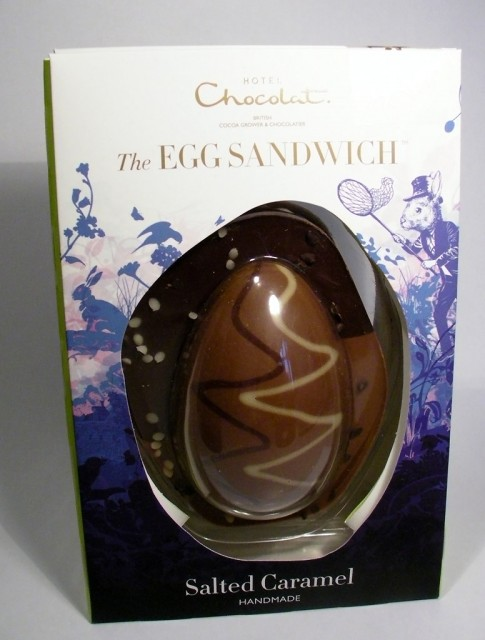 Hotel Chocolat Salted Caramel Egg Sandwich