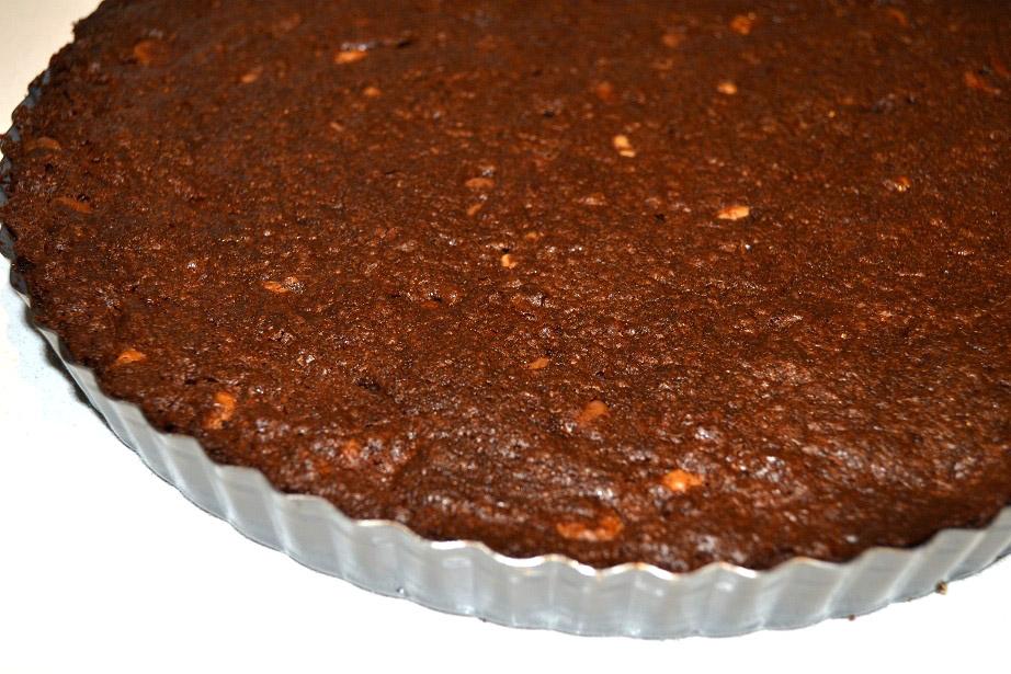 Triple Chocolate Brownie Tart