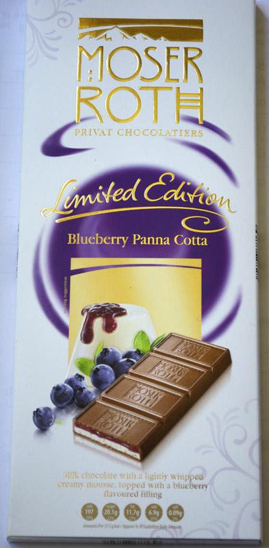 Moser Roth Blueberry Panna Cotta