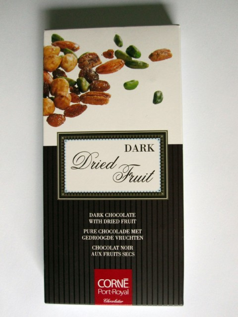 Corné Port-Royal Dark Chocolate With Dried Fruit