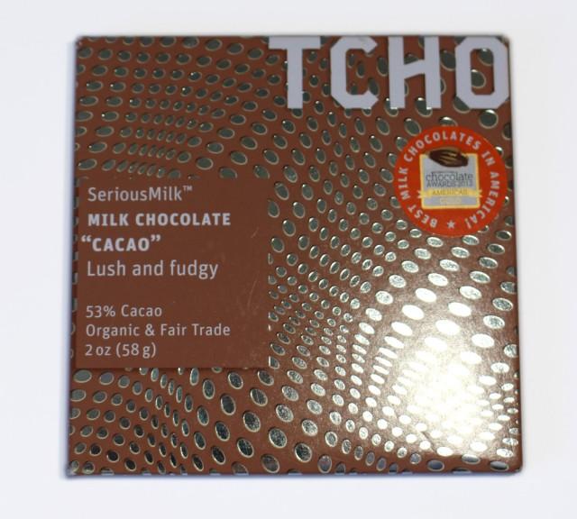 TCHO SeriousMilk Cacao