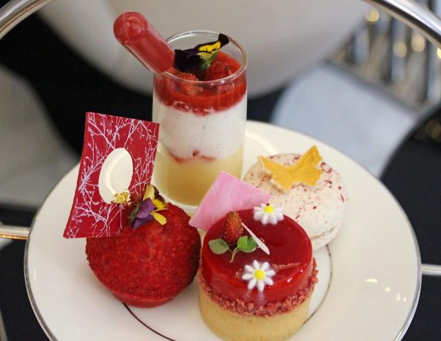 Strawberries & Cream Afternoon Tea At ME London