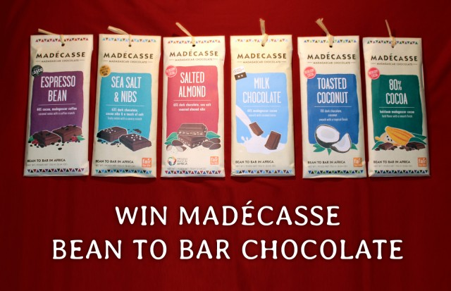 Win Madecasse Bean To Bar Chocolate
